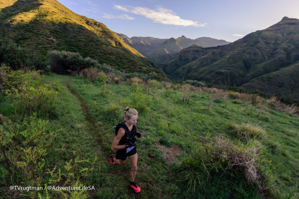 Nicolette Griffioen - Ladies winner of LesothoUltra Trail 2017 (1)